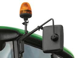 mirror mount beacon lights john deere beacon light al174214 for 6030 premium and 7030 series