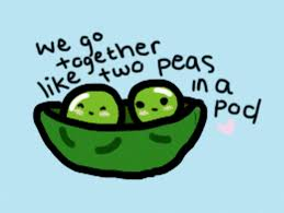 2 peas in a pod two peas in a pod by penguinhatena on deviantart