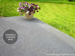 staining patio pavers staining a concrete patio best of interior design