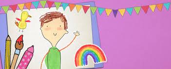 colour craft activities kids cbeebies bbc