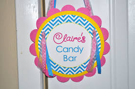 Pink And Yellow Birthday Decorations Girls Birthday Door Sign Chevron Birthday Decorations With