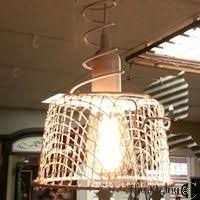 Wire Chandelier Diy One Cool Chicken Wire Basket Chandelier By All Things Thrifty