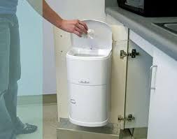 Kitchen Cabinet Waste Bins by 13 Best Trash Disposal Bins Cabinets Images On Pinterest Trash