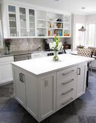 astounding small kitchen decoration using white caesar stone