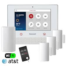 honeywell lyric dual path wireless security system kit w at t