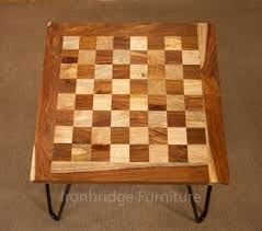 chess board coffee table solid wood chess board coffee table with hair pin legs
