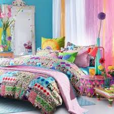 Exotic Comforter Sets Bohemian Exotic Bedding Colorful Modern Duvet Cover Queen King