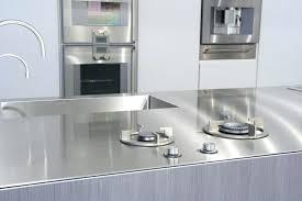 plaque inox pour cuisine plaque inox pour plan de travail cuisine socialfuzzme plaque inox