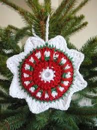 free crochet ornament pattern teresa restegui http