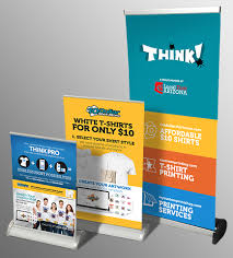 table banners and signs table top retractable banner stands mycustomprintshop com tempe az