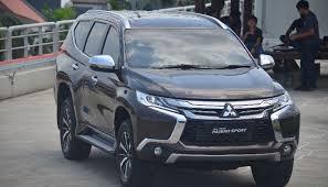 All New Pajero Sport List Kap Mobil Depan Molding Chrome melihat dari dekat all new mitsubishi pajero sport suvplus