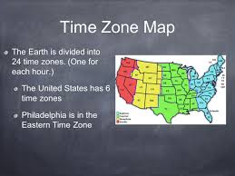 us map divided by time zones geography skills 5 themes of geography location where a place