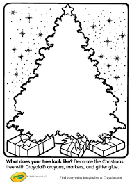 113 free christmas tree coloring pages kids