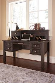 Hidden Home Office Desk by H636h1 In By Ashley Furniture In Orange Ca Townser Grayish