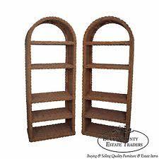 Arched Bookcase Wicker Bookcase Ebay