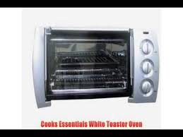 Toaster Ovens Rated Toaster Ovens Best Rated Cooks Essentials White Toaster Oven
