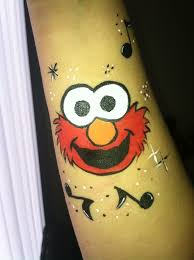 elmo painting 8 best paint inspiration sesame images on
