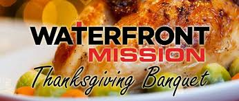 thanksgiving banquet waterfront rescue mission