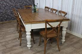 Delighful Farmhouse Kitchen Table Designed With Terracotta Floor - Farmhouse kitchen table