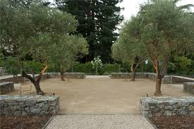 Italian Patio Design Ideas Olive Trees Others Beautiful Project - Italian backyard design