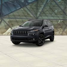 2017 jeep cherokee limited edition models
