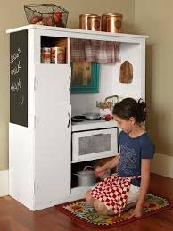 homemade play kitchen ideas how to turn an old entertainment center into a play kitchen how