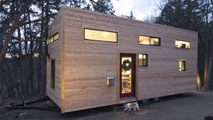 mini houses on wheels with others glass front door tiny house on