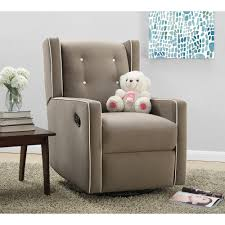swivel glider chairs living room baby relax mikayla swivel gliding recliner choose your color
