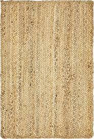 Jute Braided Rugs Natural 2 U0027 X 3 U0027 Braided Jute Rug Area Rugs Esalerugs