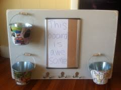 how i saved 183 on a shabby chic mail organizer