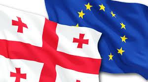 Georgia Flag Eu Georgia Association Council Concludes In Brussels