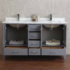 Bathroom Vanities With Two Sinks by Buy Vincent 60