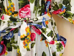 robe de chambre kimono pour femme peignoir kimono creation