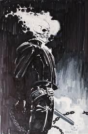 ghost rider by clayton crain in donny d u0027s convention sketches