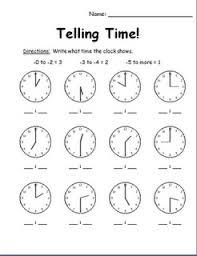 telling time assessment worksheet 84 best telling time images on teaching math teaching