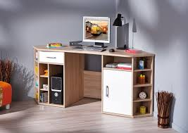 meuble bureau meuble bureau ordinateur en coin en chêne sonoma vasto belfurn