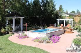 Custom Backyards Awesome 50 Custom Backyards With Lap Pool Design Ideas Of Tom