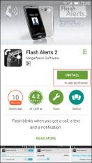 go flashlight apk how activate android flashlight apk as incoming call alert 2018