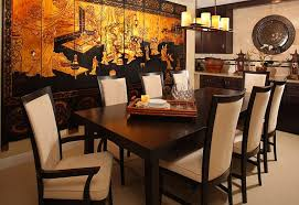 Restaurant Chair Design Ideas Serene And Practical 40 Asian Style Dining Rooms