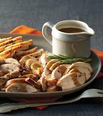 turkey gravy with porcini mushrooms rosemary roasted turkey with porcini pan sauce clean eating magazine