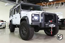 defender land rover 2016 2016 land rover bespoke built 110 fusion luxury motors