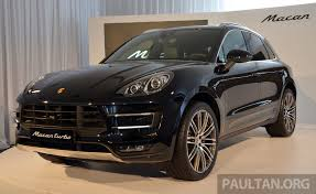 porsche macan 4 cylinder price porsche macan previewed in malaysia four variants including 4