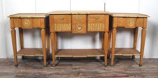 tavoli console coppia di tavoli console louis xv style antiquit礬s portier la