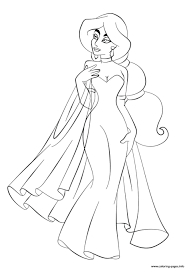 wedding colouring book free printable pictures dress princess
