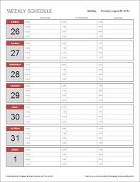 excel schedule template free rotation schedule template free