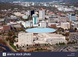 Wichita Kansas Usa Kansas Wichita Aerial View Of Century Ii Convention Hall