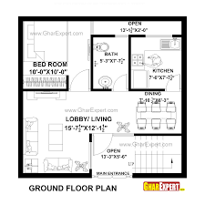 How Big Is 900 Square Feet House Plan For 25 Feet By 24 Feet Plot Plot Size 67 Square Yards