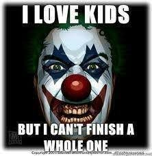 Creepy Clown Meme - creepy clown meme yahoo image search results creepy clowns