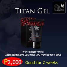 titan gel facebook