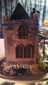 75 best creepyville miniature halloween houses images on pinterest